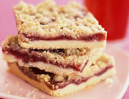 Raspberry-Cranberry Bars