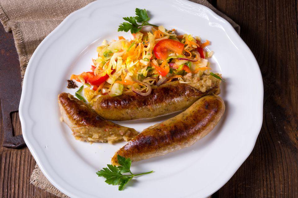 Potato Sausage served on a plate