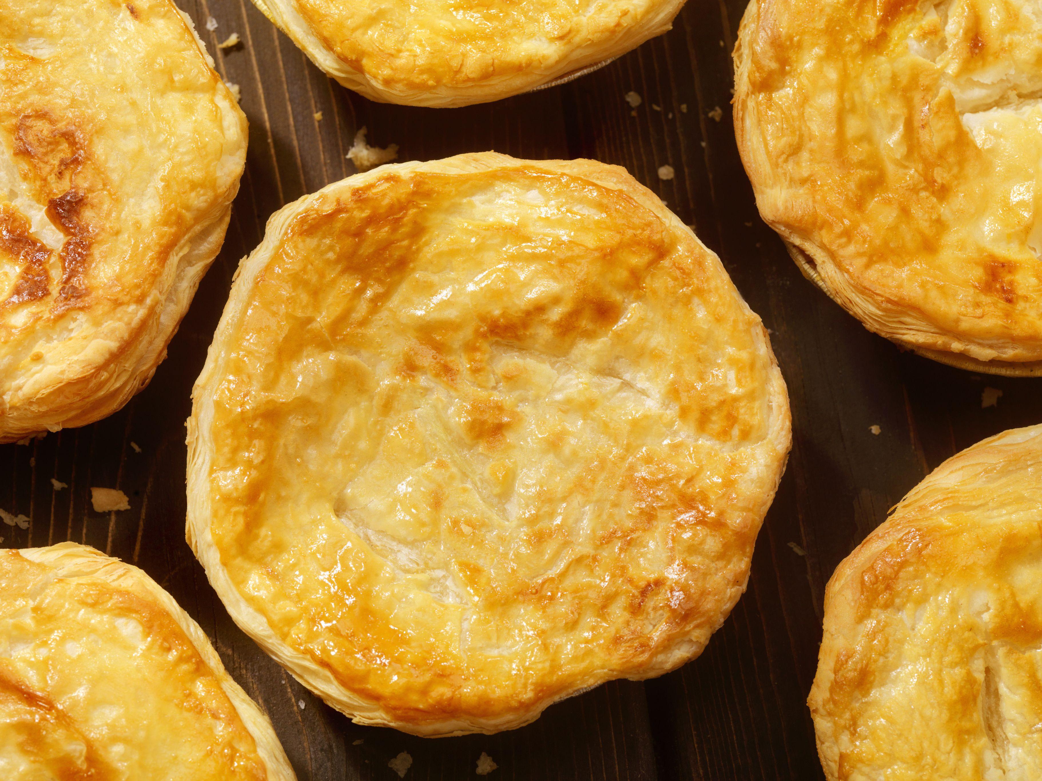 Puff Pastry Pot Pie's