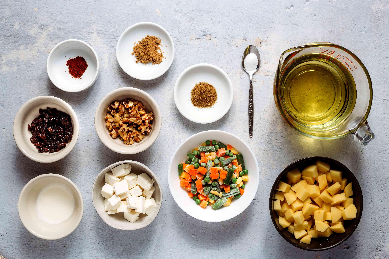 Ingredients for kofta