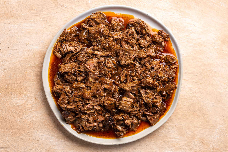 barbacoa on a platter