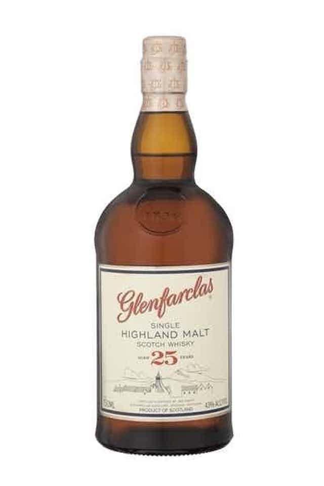GlenFarclas 25 Year Single Malt Scotch Whisky