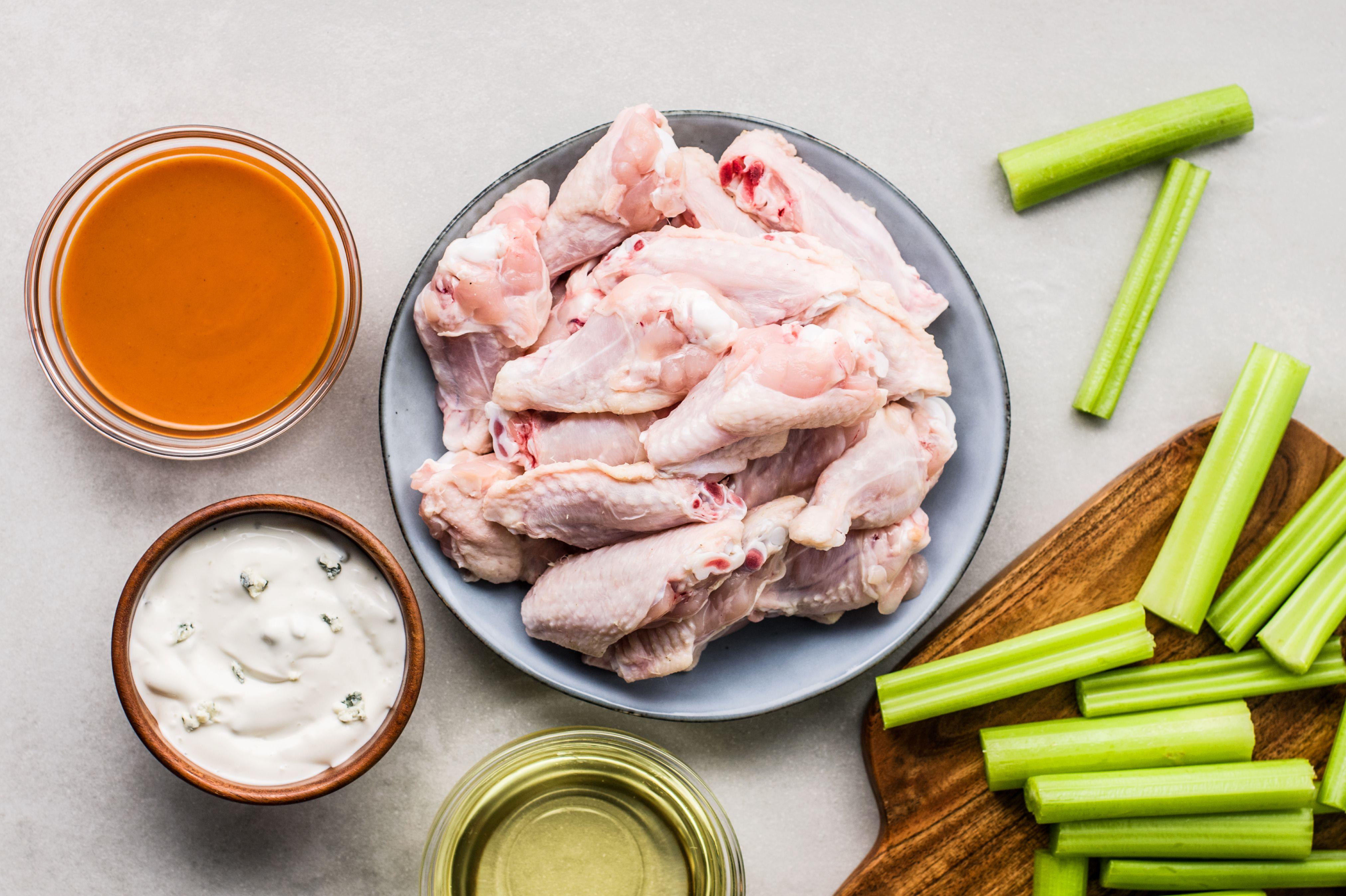 Buffalo Chicken Wings recipe ingredients