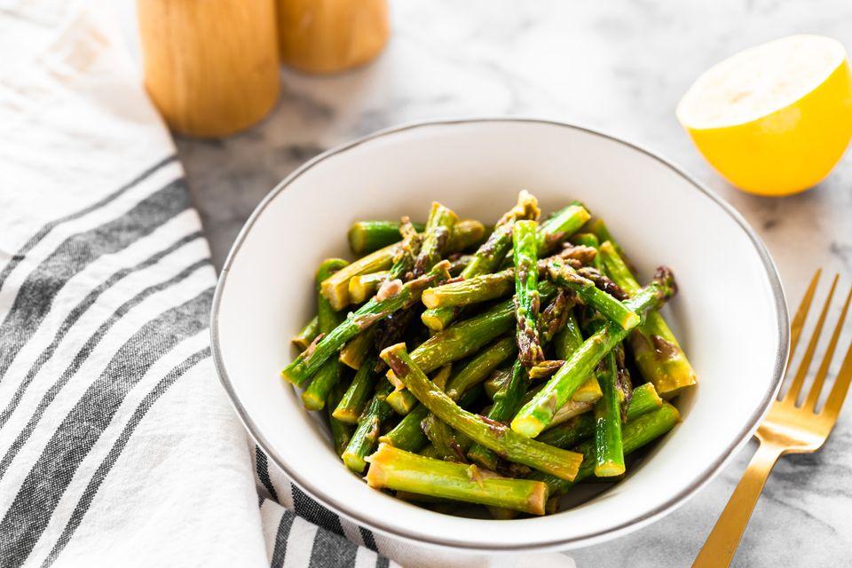Microwave asparagus recipe