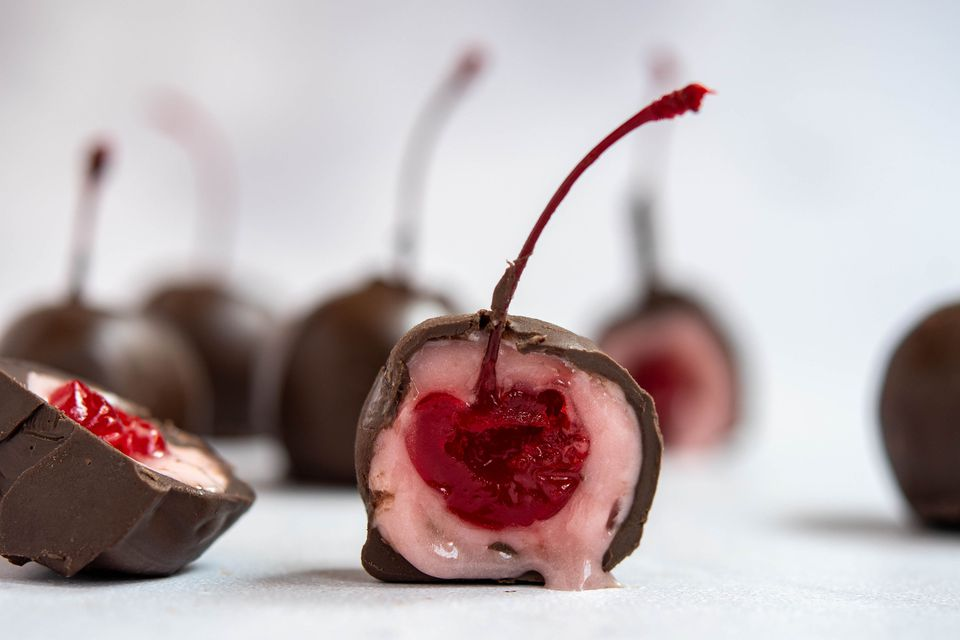 Homemade Chocolate-Covered Cherries