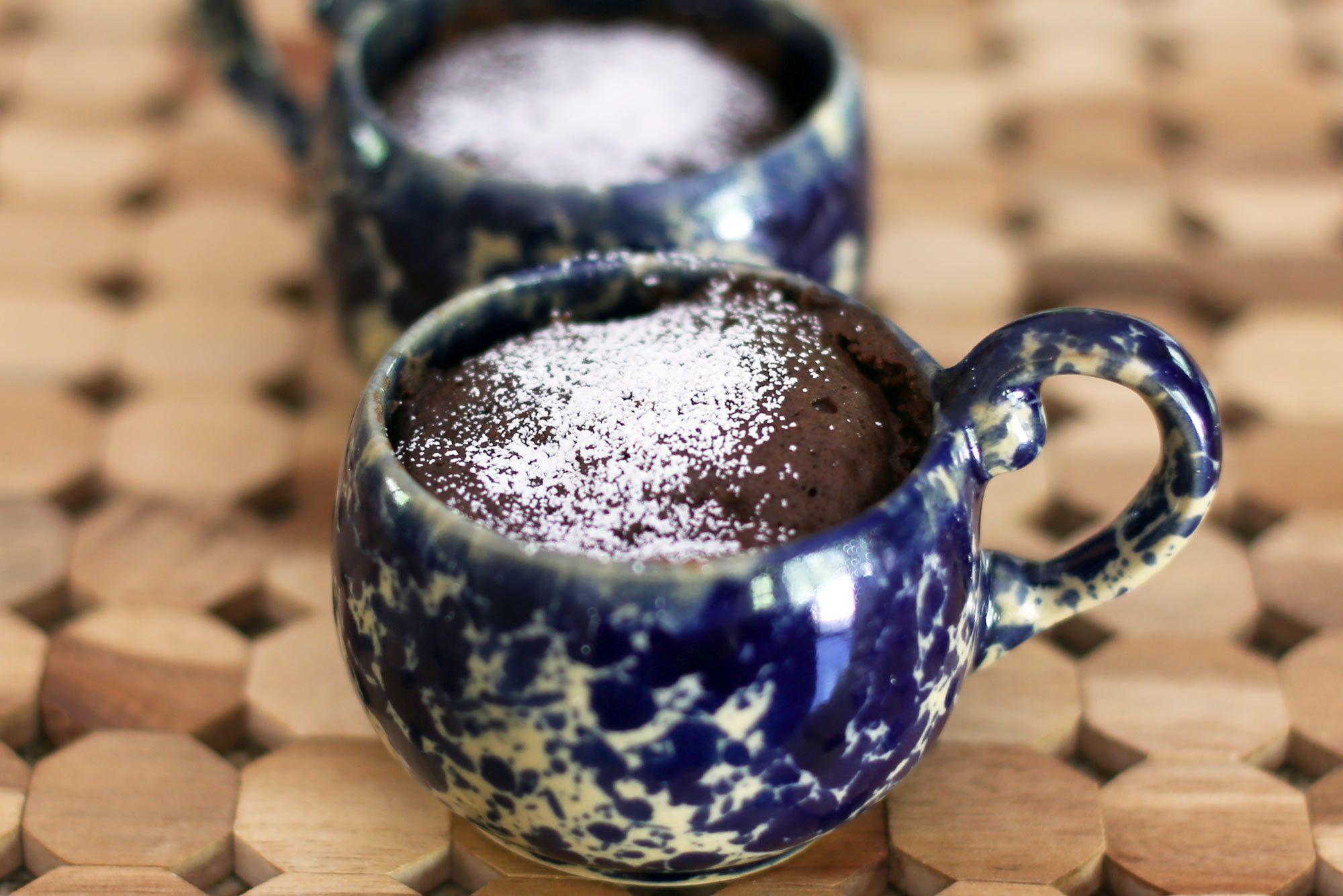 Chocolate Microwave Mug Cake
