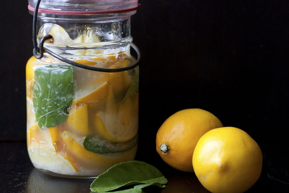 Using Preserved Lemons