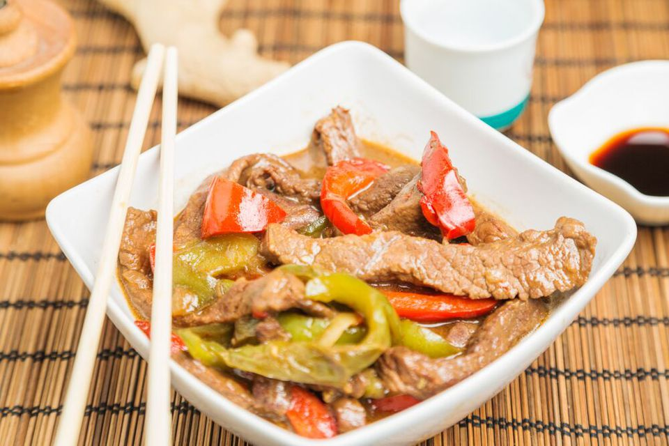 Chinese Beef and Peppers
