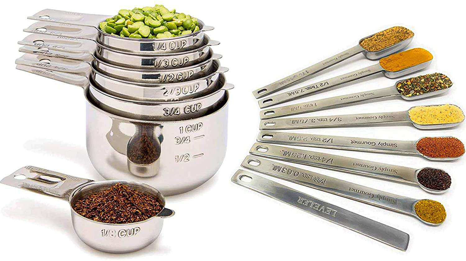 Simply Gourmet Measuring Cups and Spoons Set