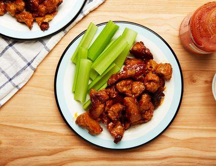 Easy vegetarian hot wings