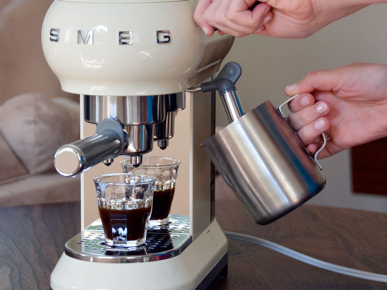 Smeg Espresso Coffee Machine Review: Beautiful, Beginner-Friendly