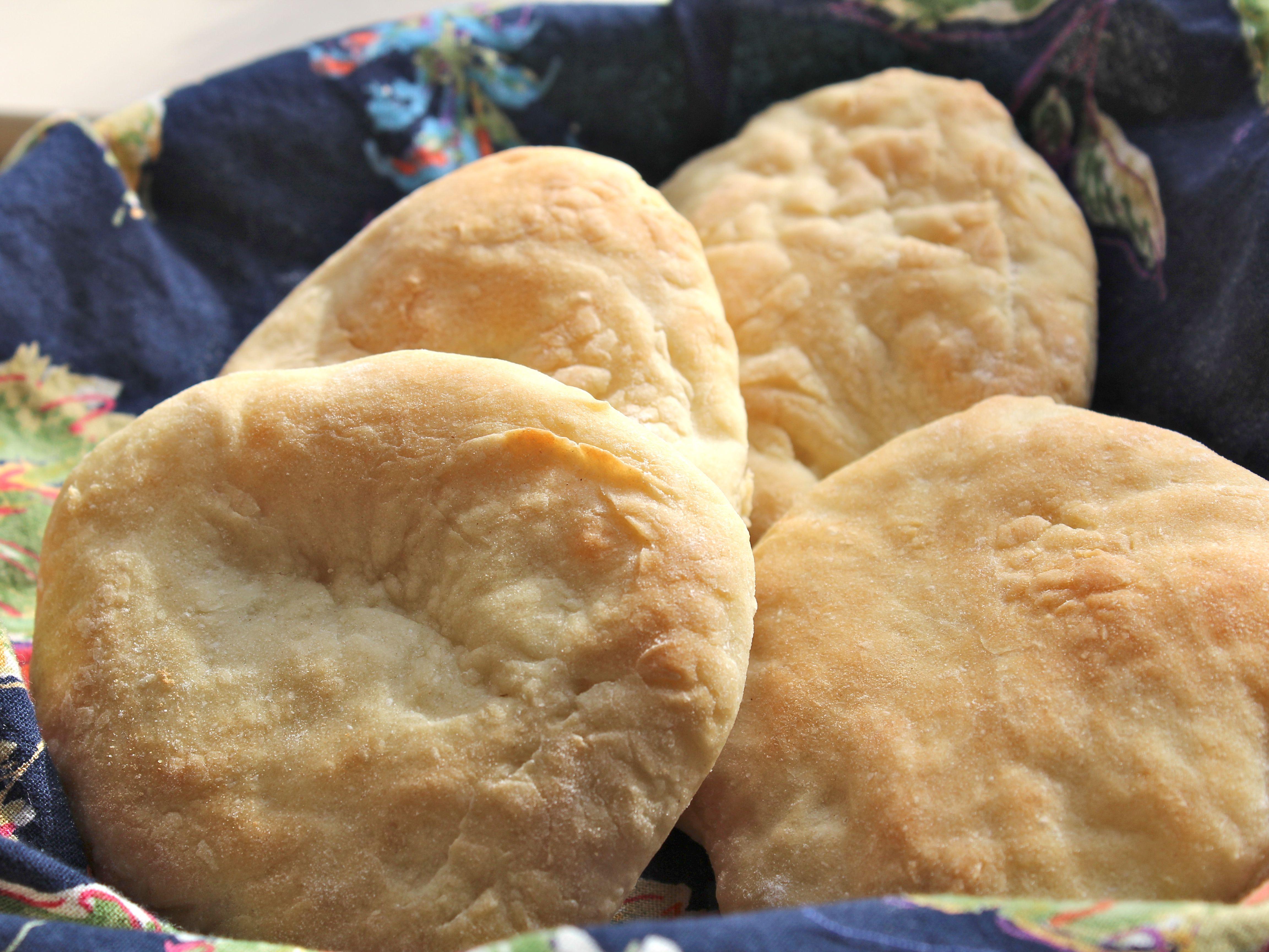 Easy Israeli Pita Bread (Pitot) Recipe