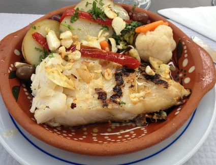 Azorean style fish