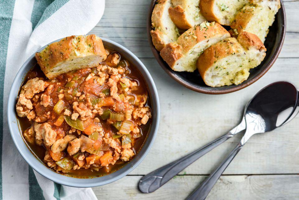 Ground turkey soup recipe