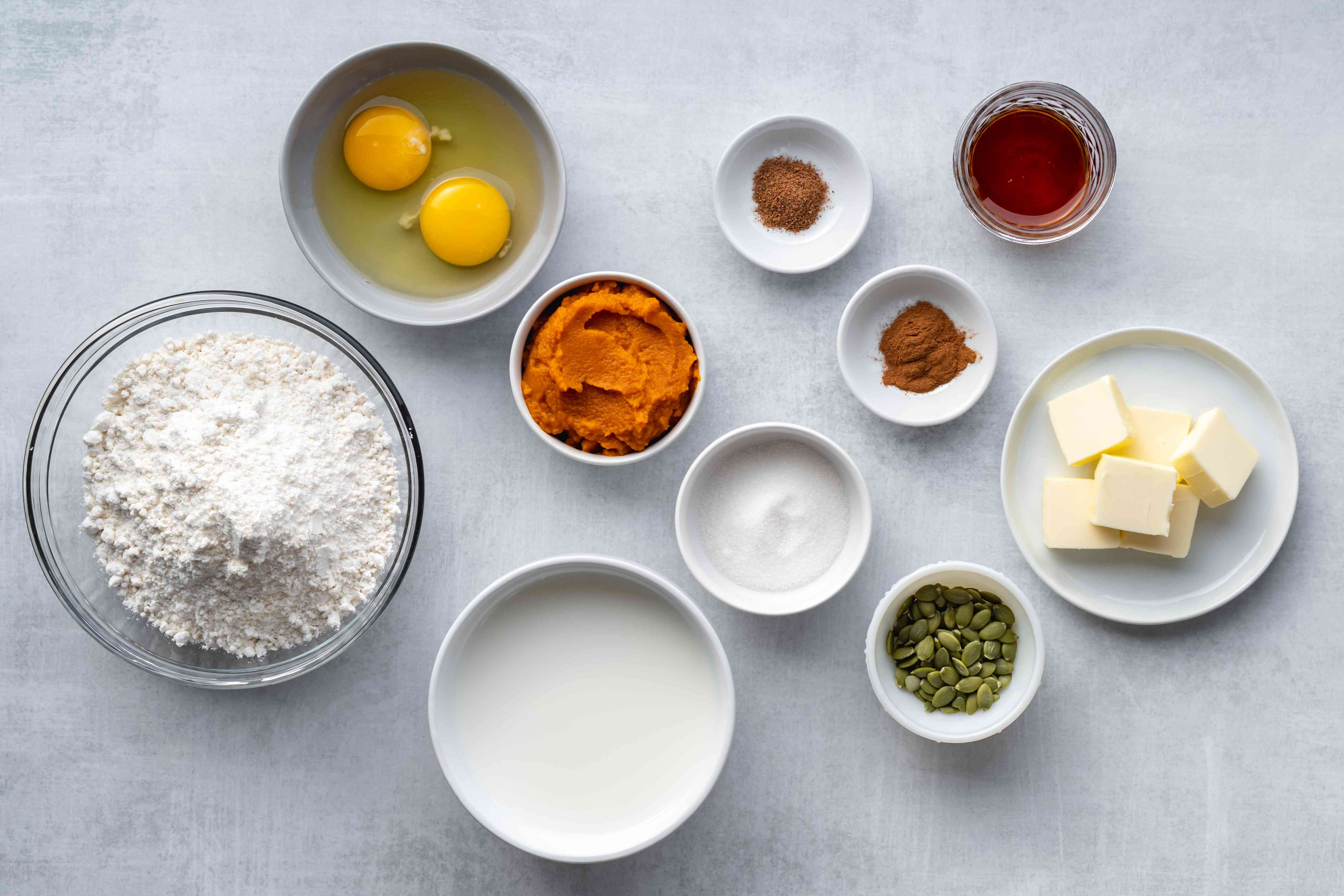 Quick and easy pumpkin pancakes ingredients