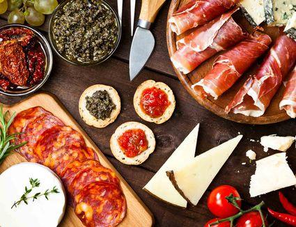 Spanish cheese plate