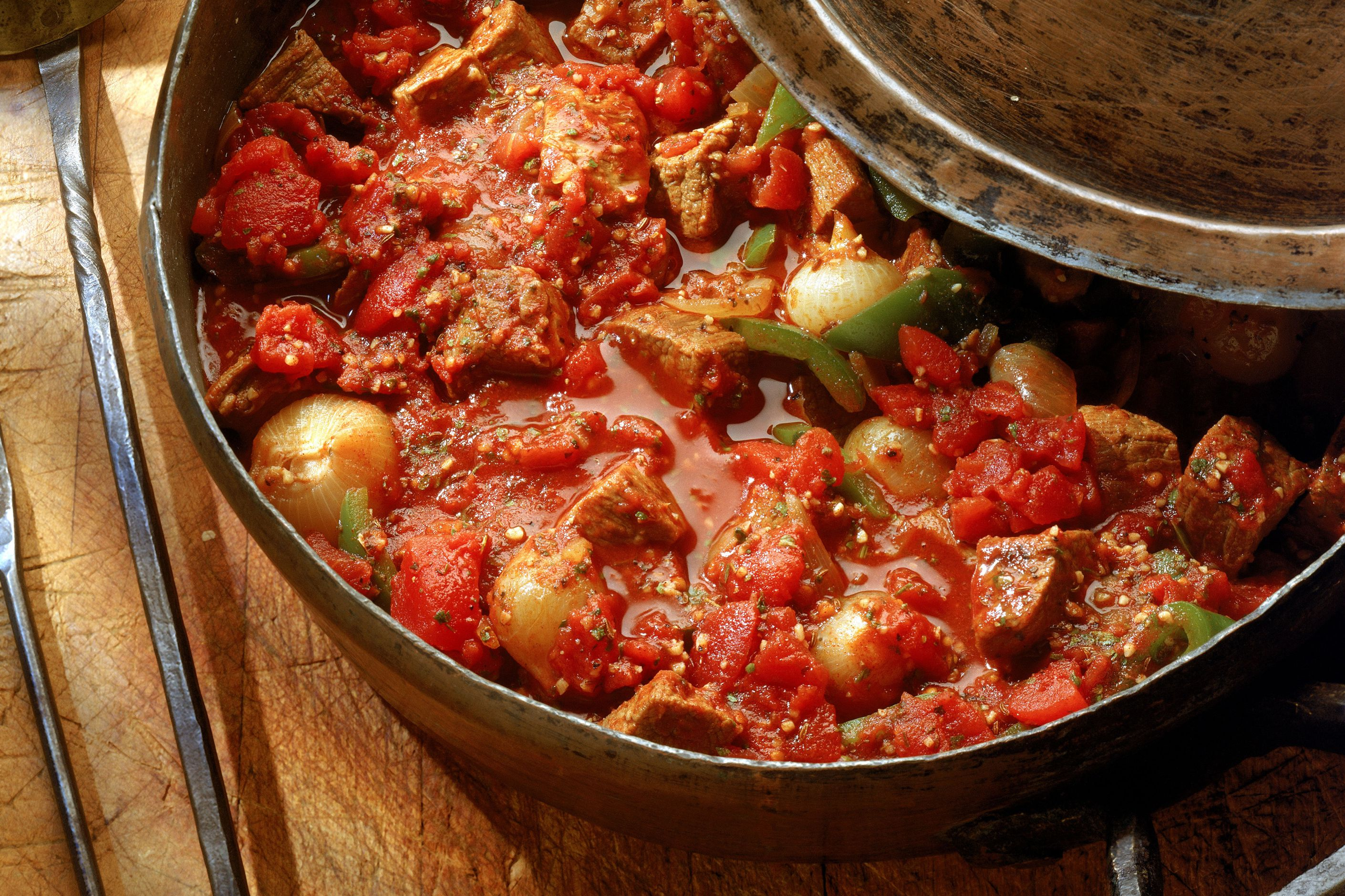 Hearty Chili With Pork and Ground Beef