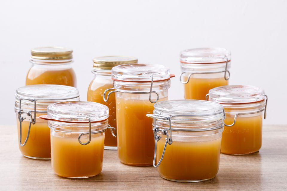 Ladle into jars