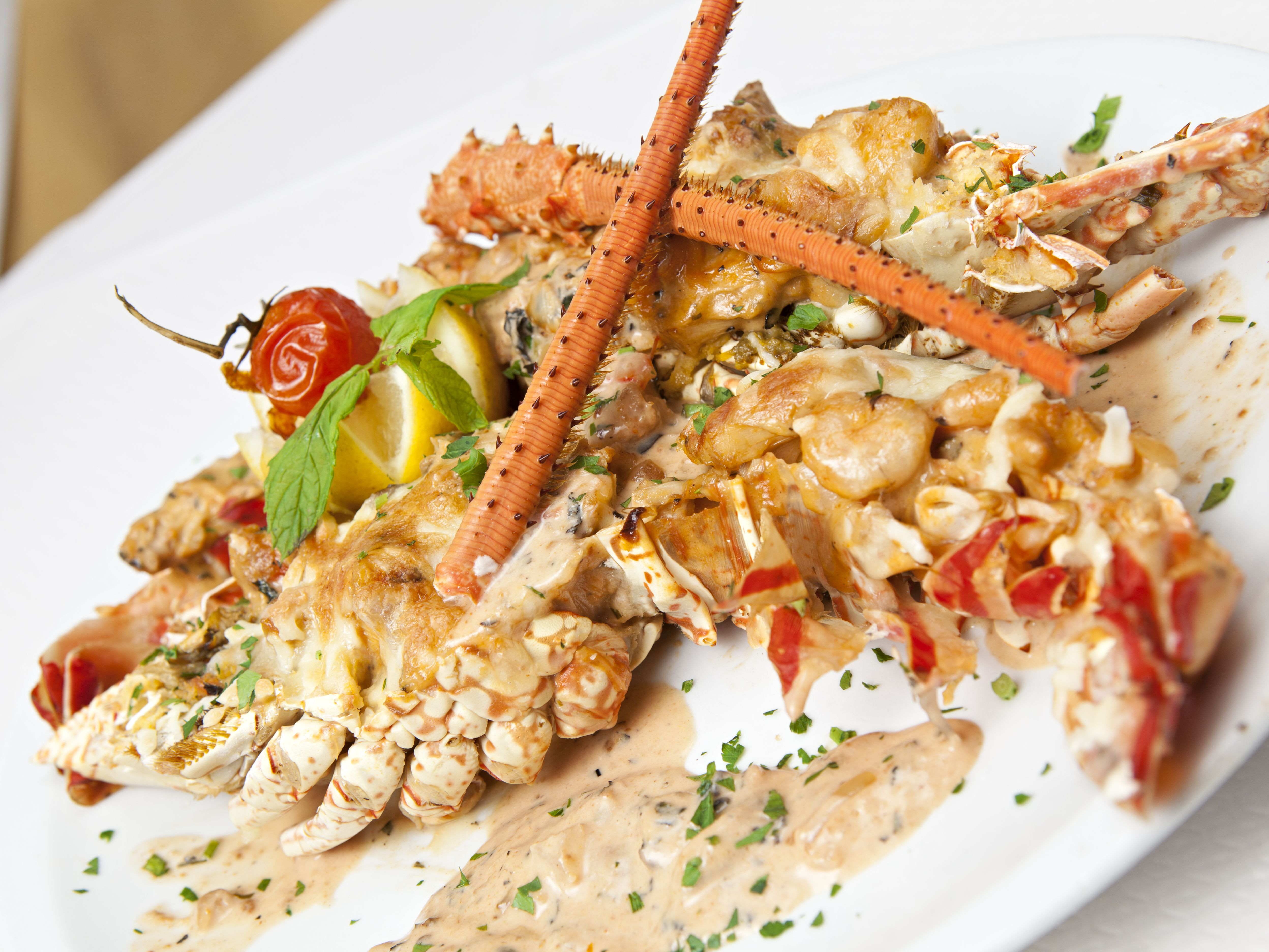 Chef Worthy Recipe For Lobster Thermidor With Bechamel Sauce