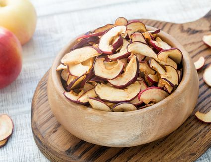 Dried apples, dehydrated apples