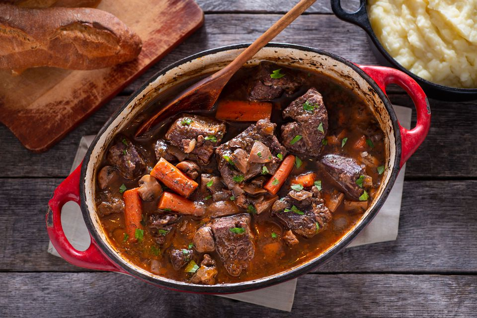 French Boeuf Bourguignon