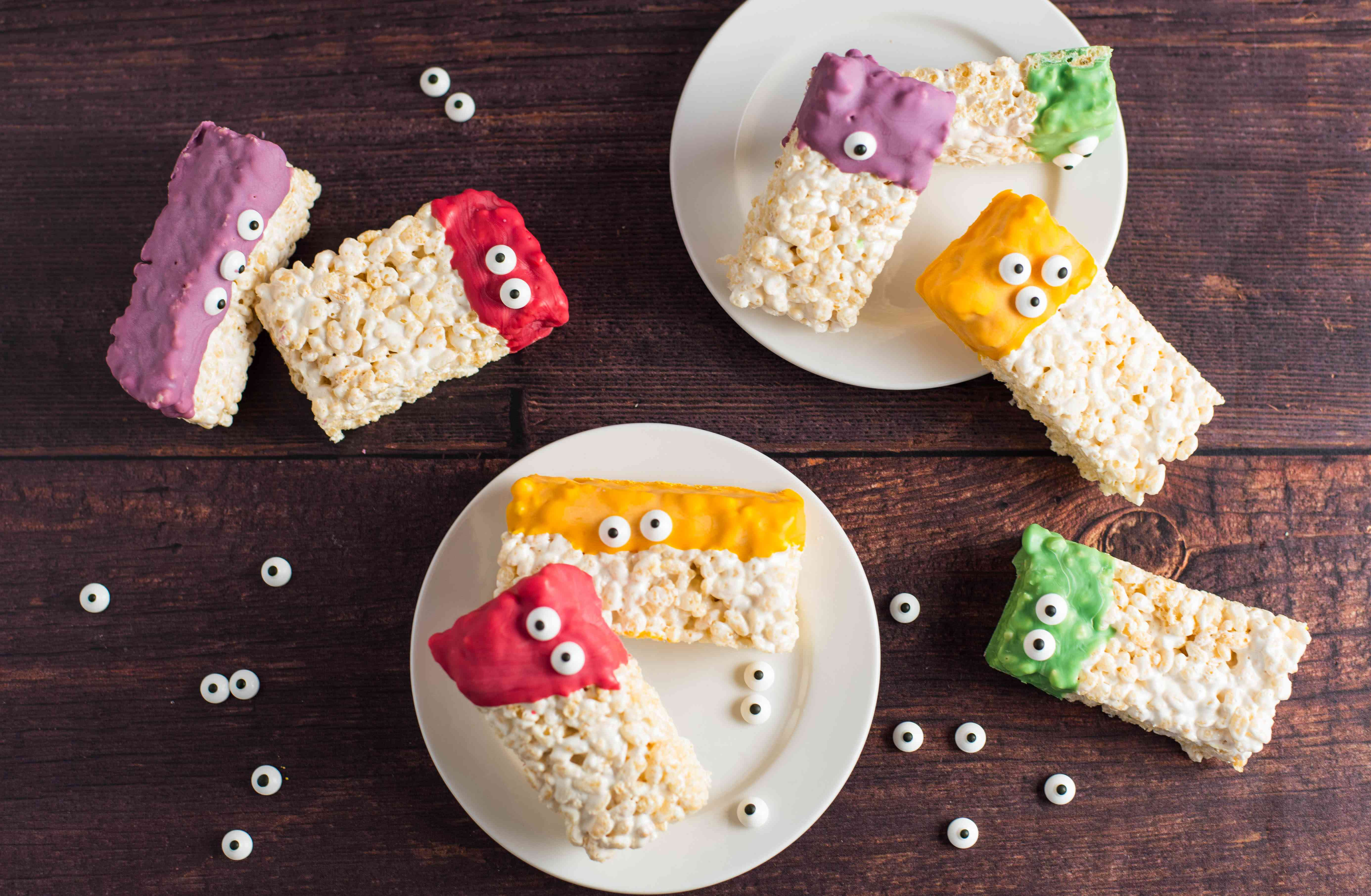 Monster rice krispie treat recipe