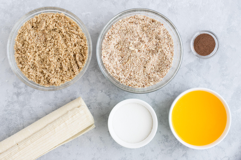 Baklava recipe ingredients