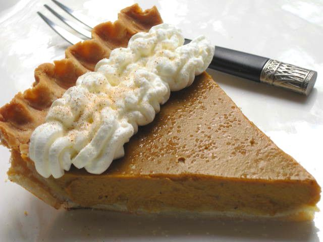 Gluten-Free Pumpkin Pie Recipe Image Teri Gruss