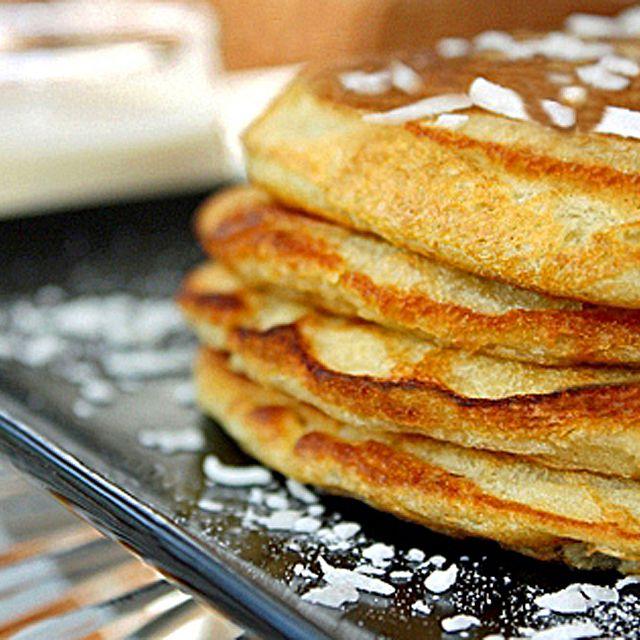 Homemade Coconut Pancakes Recipe