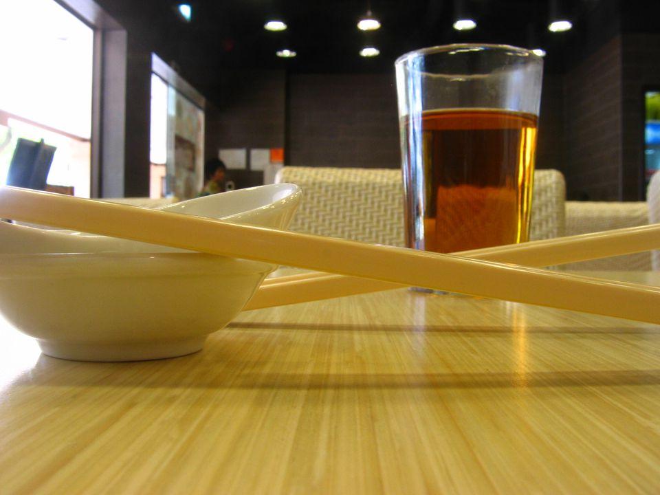 Korean roasted rice tea