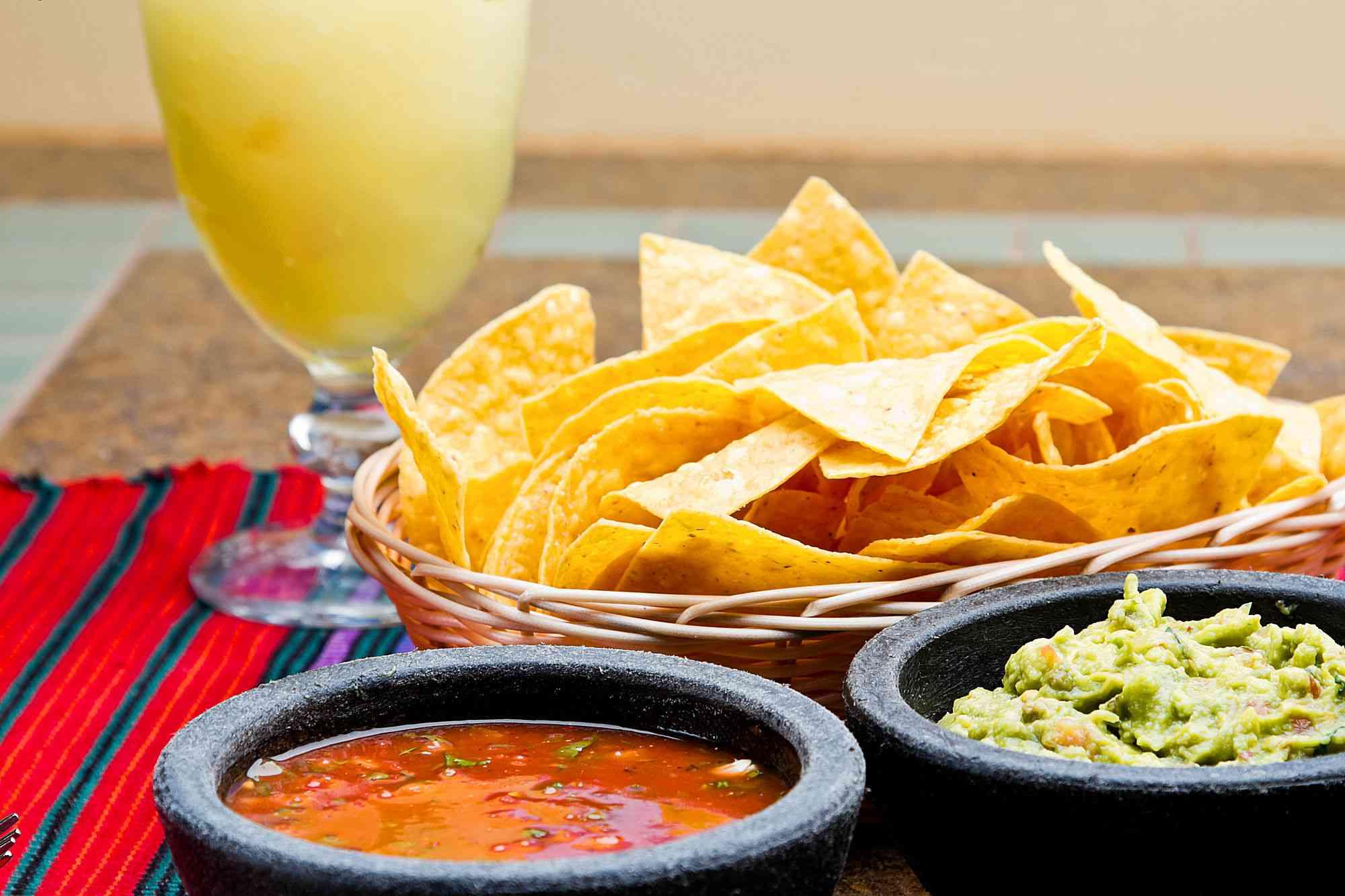 Chips, Salsa, Guacamole