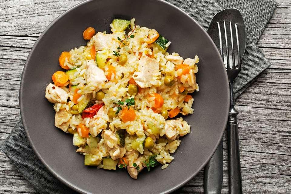 Crockpot Chicken Wild Rice Casserole