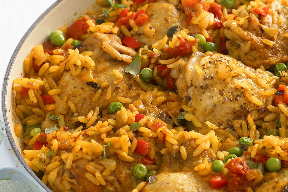 Arroz con Pollo up-close