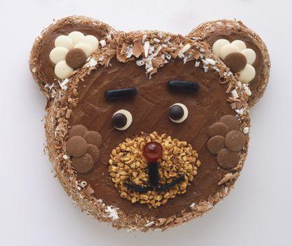 teddy bear pull-apart cupcakes