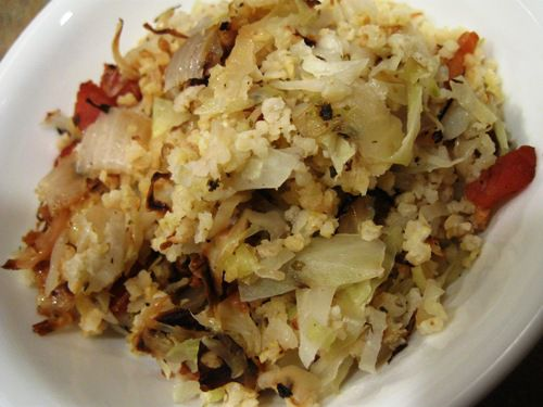 Millet and Cabbage Image - Recipe for Hirsekraut