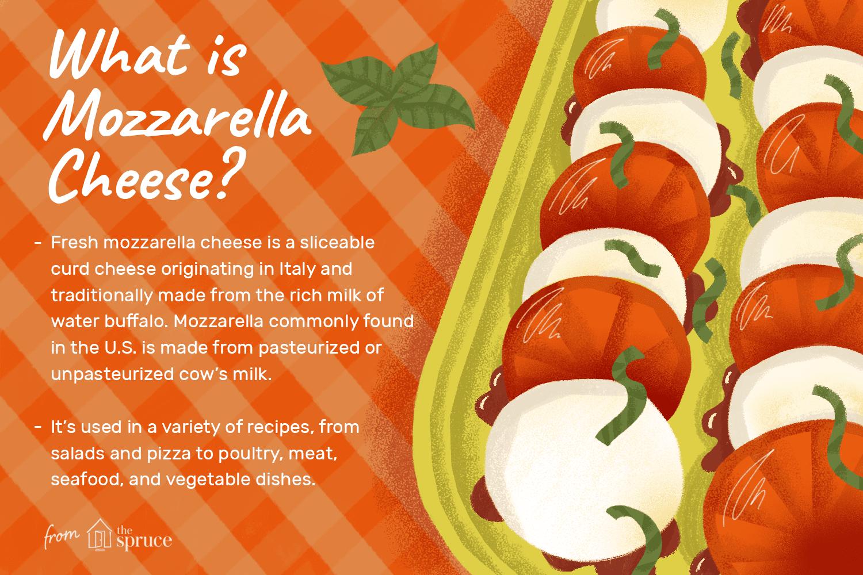 What is mozzarella cheese?