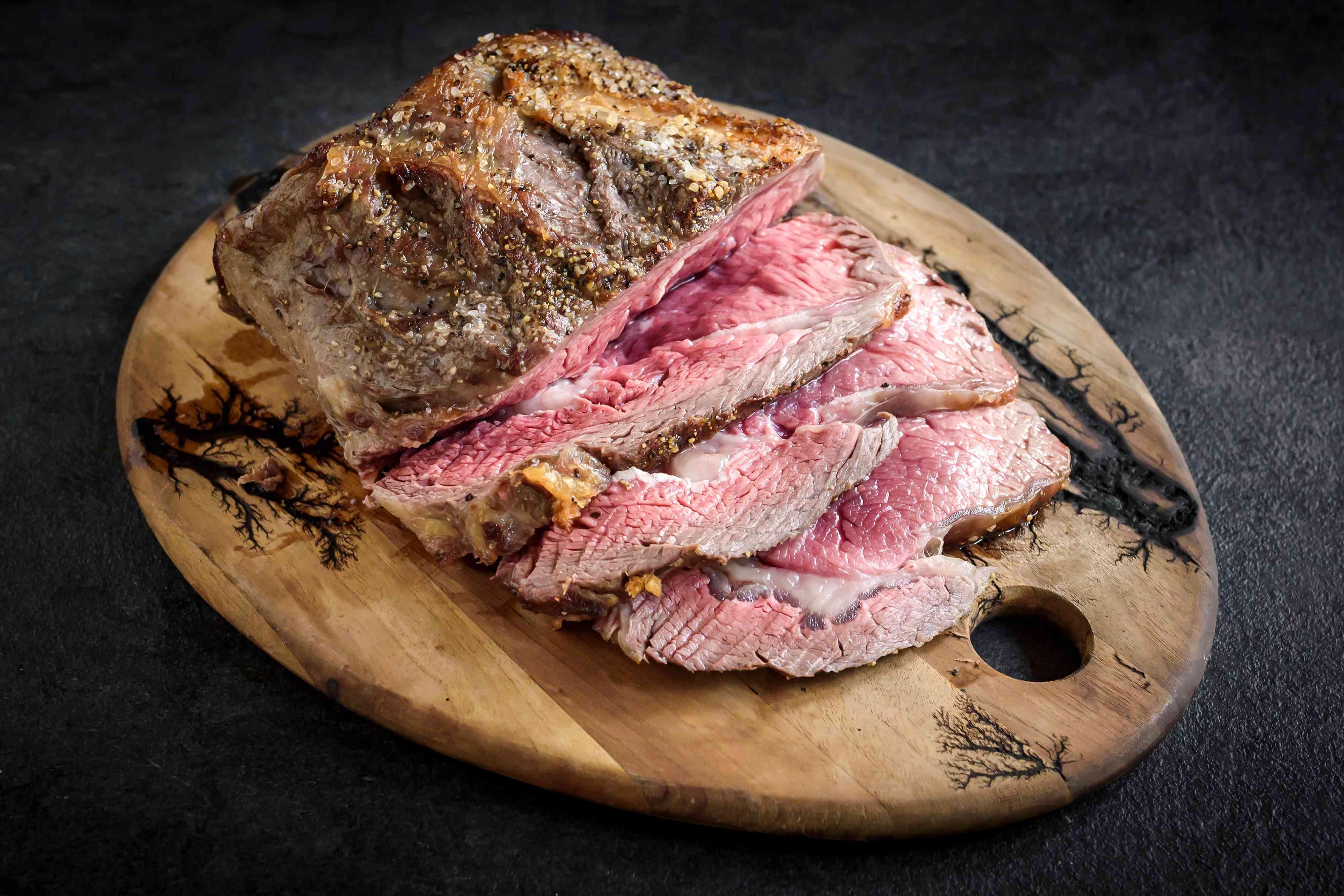 Sliced Rib Roast