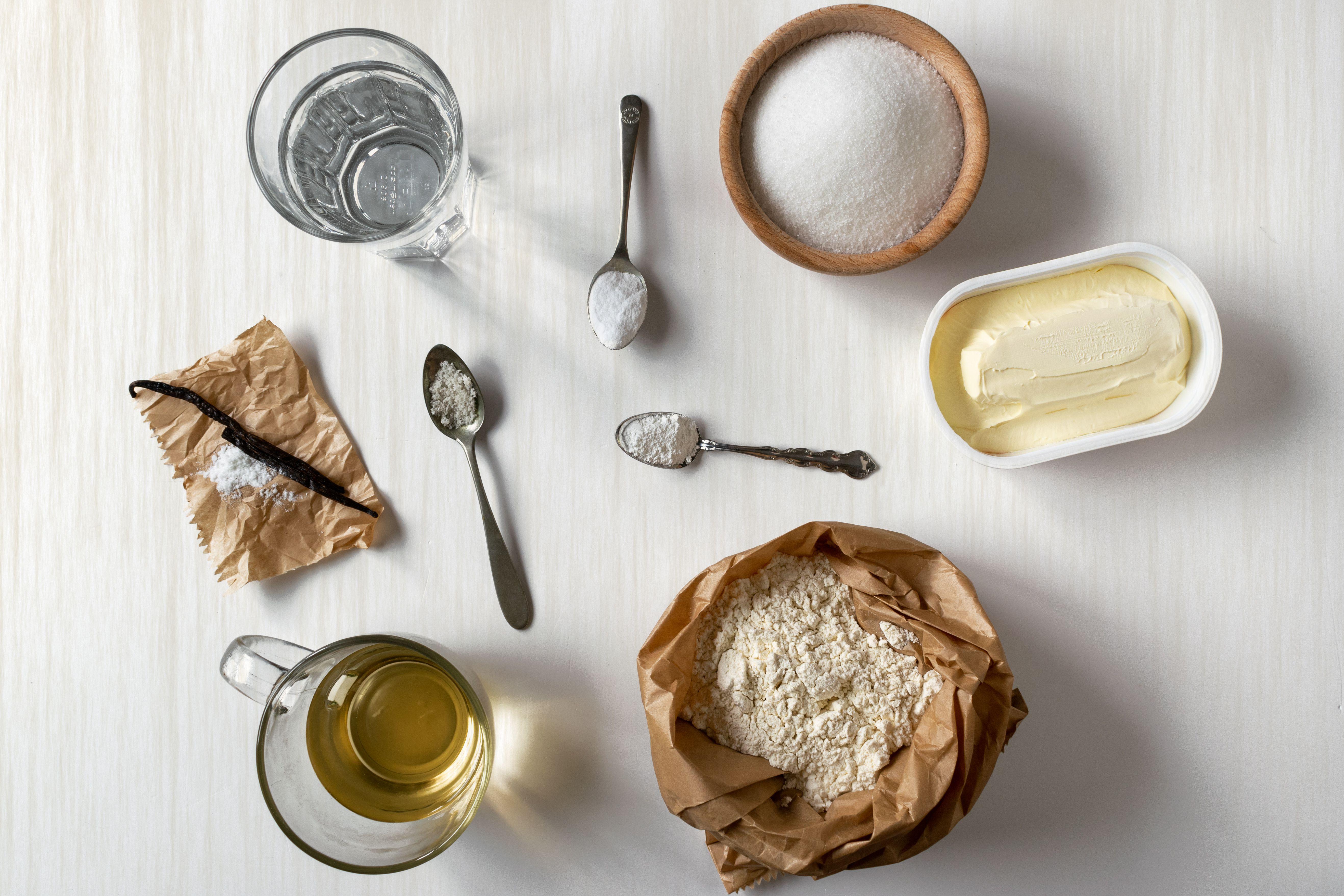 Basic Vegan White Cake Ingredients