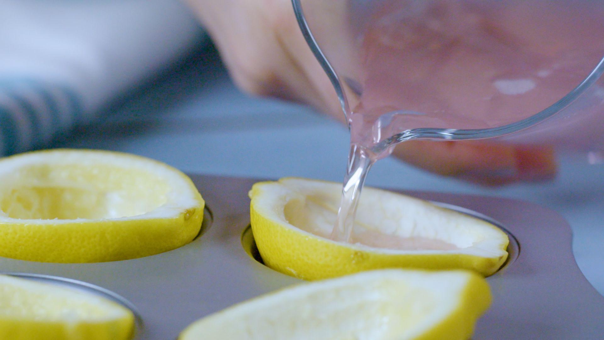 Pink Lemonade Champagne Jello Shots