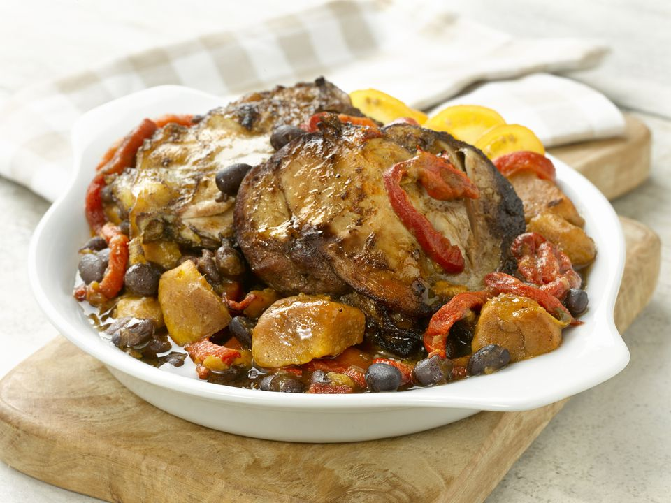 Latin Chicken Slow Cooker Style