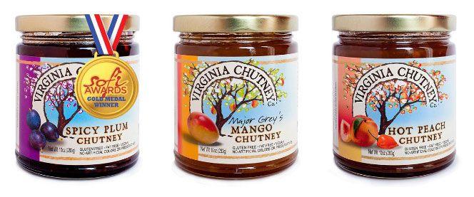 Virginia chutney company flavors