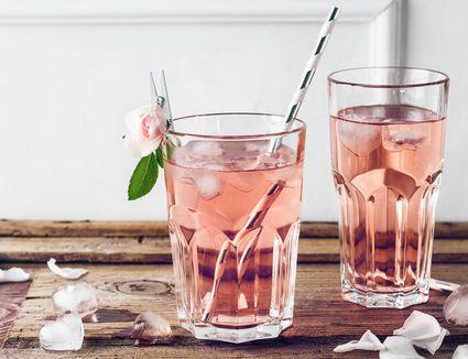 Rose Water Cocktail
