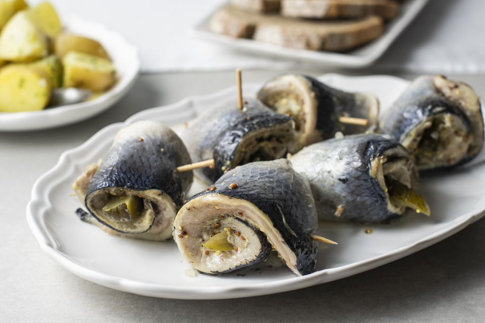 Pickle herring for polish rollmops recipe