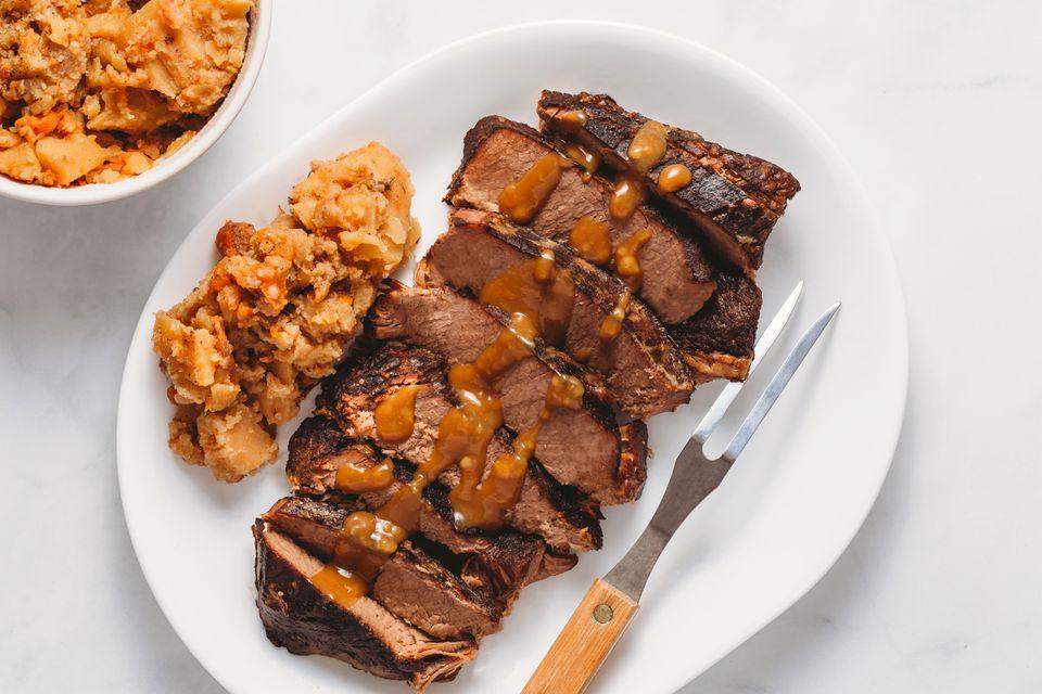 Slow Cooker Beef Brisket With Potatoes Recipe