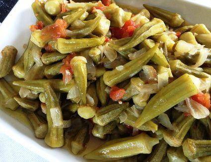 Turkish-style okra