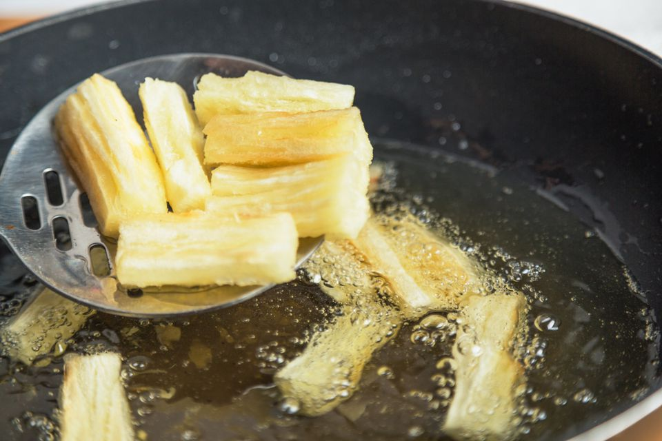 Yuca Fries (Yuca Frita) Recipe