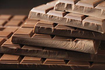 Chocolate bars for chopping chocolate