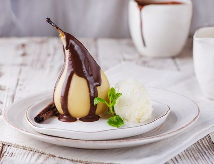 French pear dessert