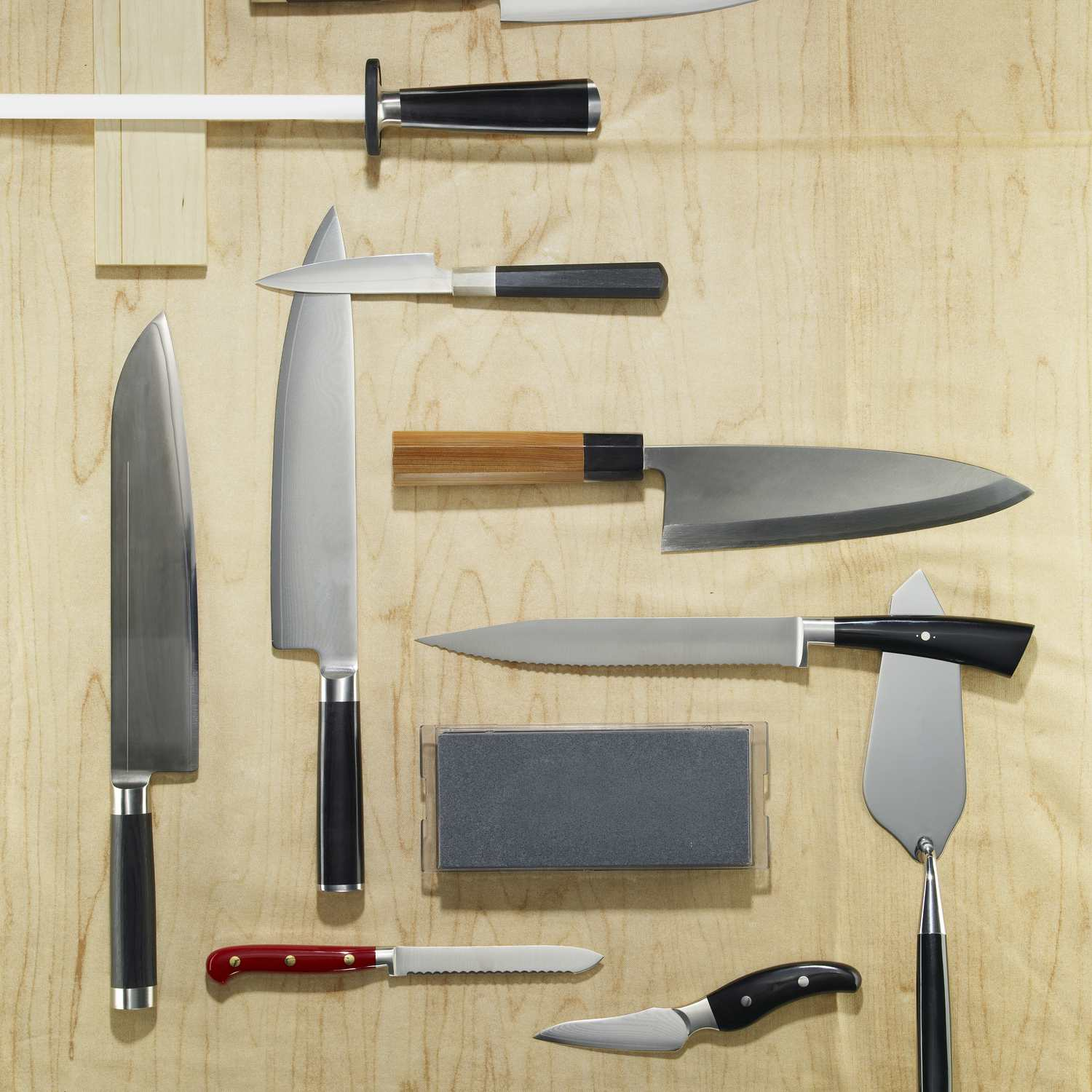 Knife grid