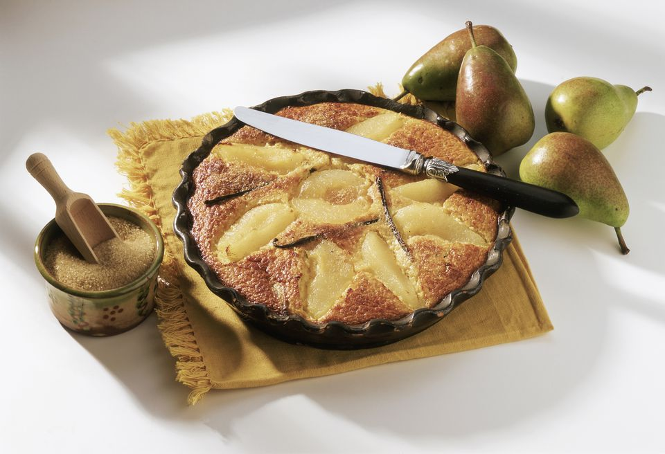 French pear clafoutis